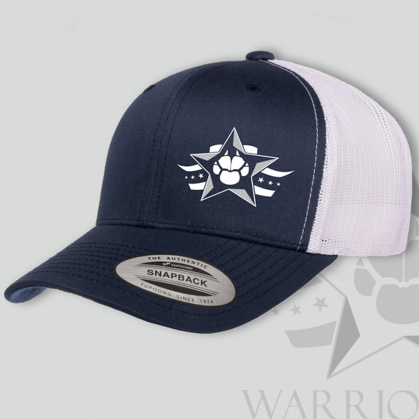 Warrior Dog Foundation Trucker Hat - Limited Edition Blue