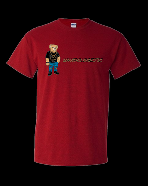 Unapologetic Bear - Red  Tee