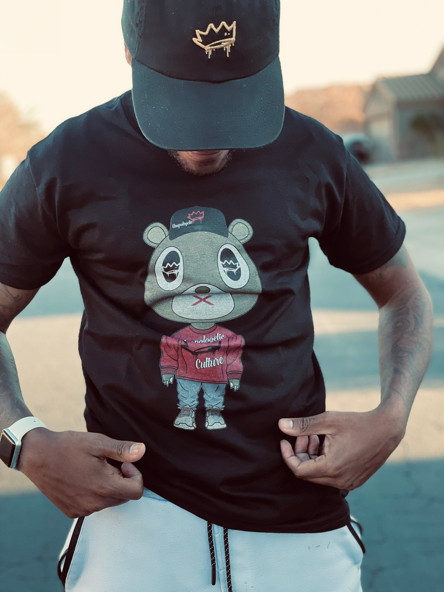 Unapologetic Crazy Bear Tee v2