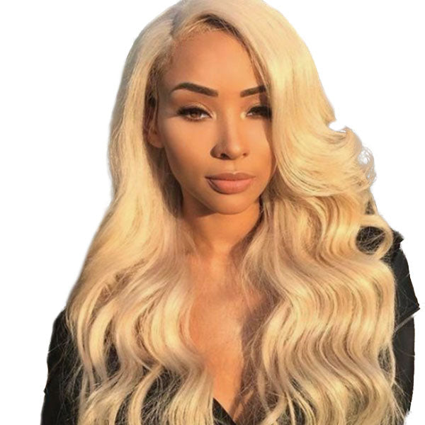 Parrucca in pizzo naturale Pizzo frontale 13x4 "