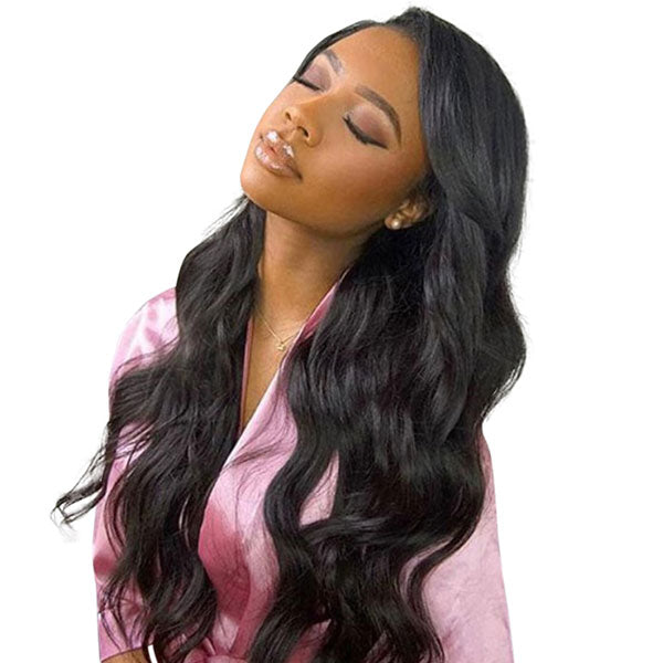 "13x4 ""Front Lace Natural Hair Wig 