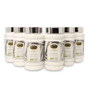 ULTIMATE ORGANIC VITAMIN C & COLLAGEN - 6 BOTTLES
