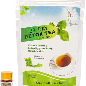 28 Day Detox Tea & Gelules Miracle - Miracle Diet Pills