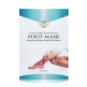 NEW Exfoliating And Brightening Foot Mask