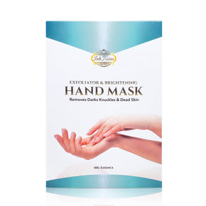 NEW EXFOLIATING AND BRIGHTENING HAND MASK