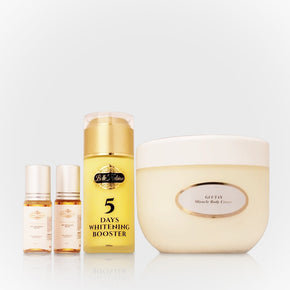 Glutax Miracle Body Cream With 2 Belle Nubian Serum +1 5 Days Lightening Booster
