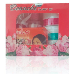BEAUCHE INTERNATIONAL SKIN LIGHTENING ANTI AGING BEAUTY FACIAL SET