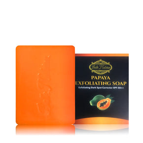 NEW Belle Nubian Exfoliating Papaya Soap with SPF 50