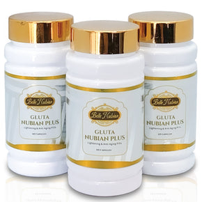 NEW GLUTA NUBIAN PLUS 35000GF (DIAMOND) - 3 BOTTLES