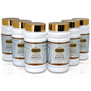GLUTATHIONE 600GS - 6 BOTTLES