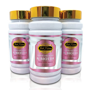 SUPER COLLAGEN & BIOTIN - 3 Bottles