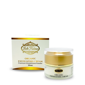 organic-exfoliating-cream-glutathione-powder