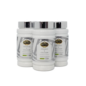 ULTIMATE ORGANIC VITAMIN C& COLLAGEN - 3 BOTTLES
