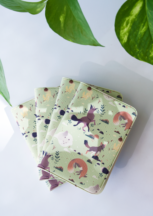 Five Foxes Card Wallet