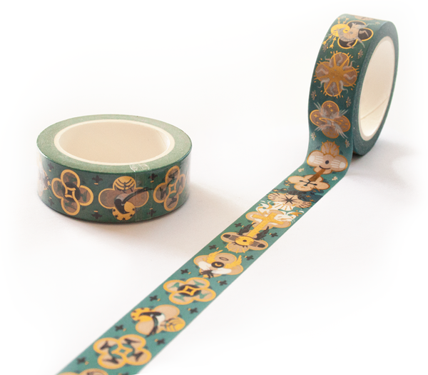 Heart of Gold Washi Tape