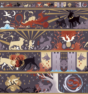 Rains of Castamere Washi Tape