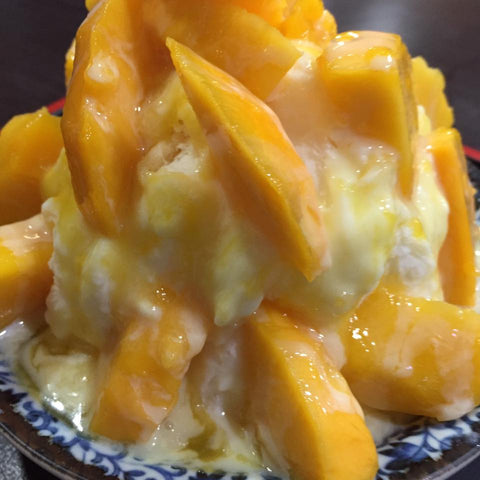 10 Best Taiwanese Foods That Make You Want Some Tea: #10 Mango Shaved Ice (by guest blogger Amy Hsiao)