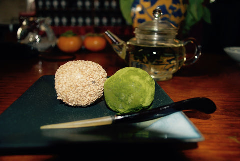 Gluten Free Matcha (Japanese Green Tea Powder) Mochi Balls by FLT co-founder Donna Lo