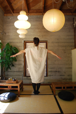 Handmade White Tea Dress/Long Shirt