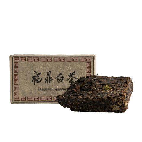 Rare Tea Sampler: White Tea Brick & Puer Mini Brick