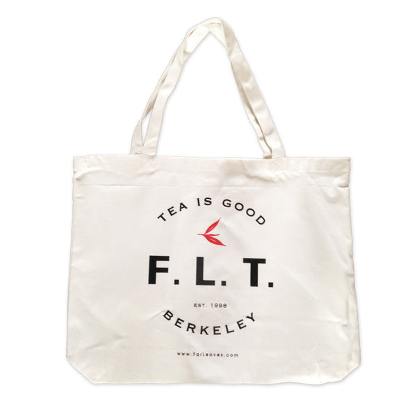F.L.T. tea is good tote