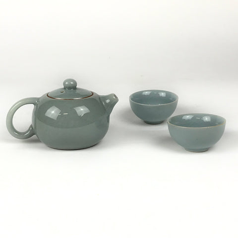 Celadon Teaset for Two