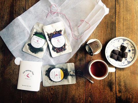 Monthly Tea Club Subscription: 3 Fresh Teas per Month