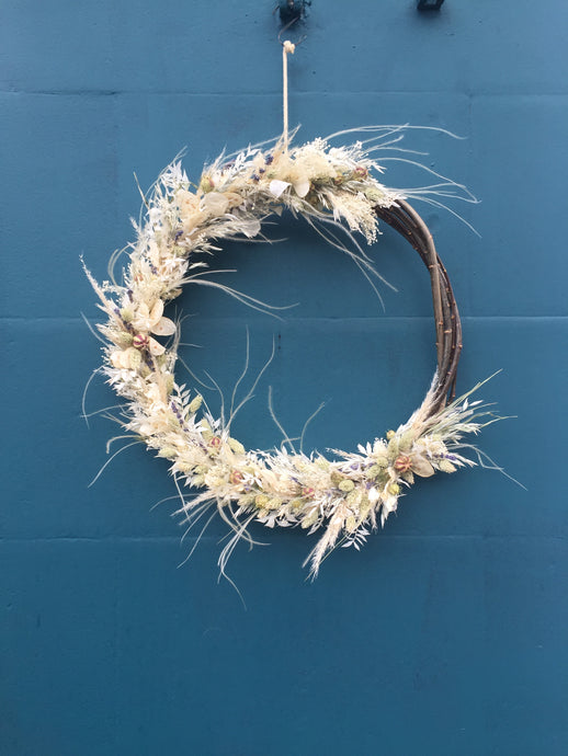 First Frost Dried Wreath - Flùr
