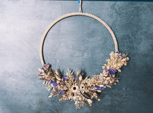 Load image into Gallery viewer, Lilac Macrame Wreath - Flùr