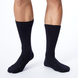 Dr. Scholl's Men's American Lifestyle Collection Dress Crew Socks 2 Pair