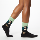 Hot Sox Women's Da Vinci's Mona Lisa Socks thumbnail