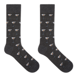 Hot Sox Men's Martini Crew Socks