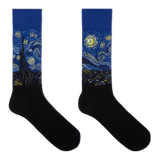 Hot Sox Men's Van Gogh's Starry Night Socks
