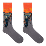 Hot Sox Men's Munch's The Scream Socks thumbnail