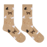 Hot Sox Women's Cats Crew Socks thumbnail