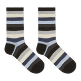 Hot Sox Women's Bold Stripe Crew Socks