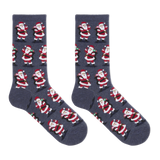 Hot Sox Women's Santa With Presents Crew Socks