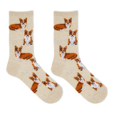 Hot Sox Women's Corgi Crew Socks