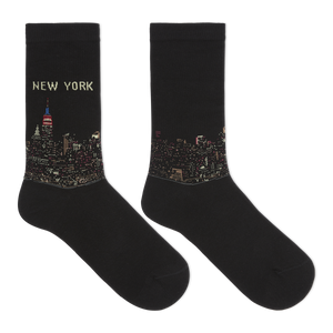 Hot Sox Women's New York Crew Socks