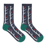 Hot Sox Women's Cardinals in Birch Tree Socks