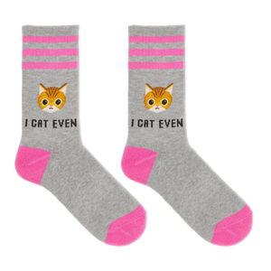 Hot Sox Women's I Cat Even Socks