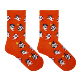 Hot Sox Kid's Costume Ghosts Crew Socks