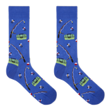 Hot Sox Men's Fishing Crew Socks