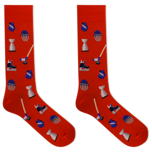 Hot Sox Men's Hockey Crew Socks