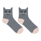Hot Sox Women's Cat Ears Anklet Socks thumbnail