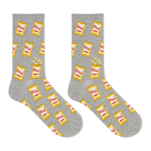 Hot Sox Women's Potato Chips Crew Socks