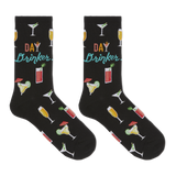 Hot Sox Women's Day Drinker Crew Socks