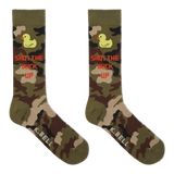 K. Bell Men's Shut The Duck Crew Socks