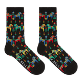 K. Bell Women's Swedish Horses Crew Socks