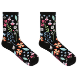 K. Bell Women's Floral Sock Crew Socks